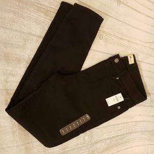 NWT GAP 1969 Black True Skinny Jeans